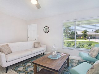 Newly updated home w/ a private pool & furnished patio - a block from the beach!