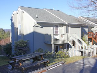 Updated two bedroom condo w/Beech Mountain views & spacious private balcony
