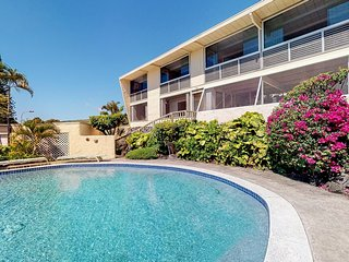 NEW LISTING! Beautiful home w/ ocean view, private pool, hot tub & covered lanai