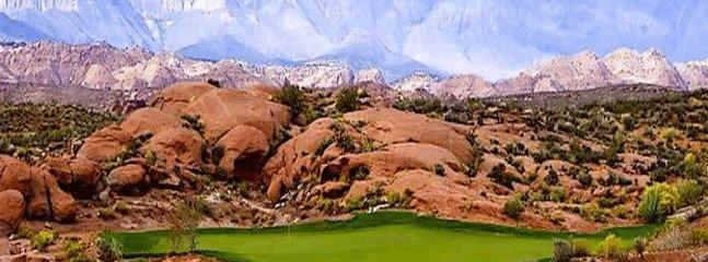 Coral Canyon Golf Course 5 min away.