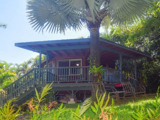 Romantic getaway w/ a private, outdoor shower & furnished deck - close to beach