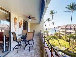 Oceanview condo w/ a shared pool, hot tub, & tennis - nearby beach access