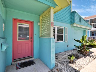 Dog-friendly, tropical getaway in a prime location - steps from the beach!
