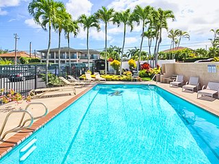 Remodeled ground floor condo w/ shared pool - close to Kapalua & beaches!