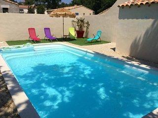 LS6-341 AUSSADO - Beautiful rental near Avignon with private pool, 8 sleeps