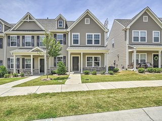 NEW! Morrisville Townhome~13 Mi to Duke University