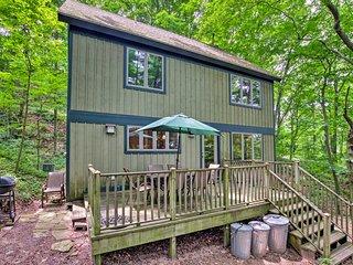 Modern Cottage w/Large Deck & Lake Michigan Views!