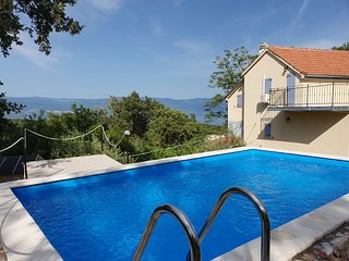 Holiday House CASA RISIKA 226 with pool, garden & sea view in relaxing location