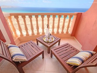 New&Modern Flat with Ocean View&Free Wifi - Sotavento Beach, Costa Calma (12G)