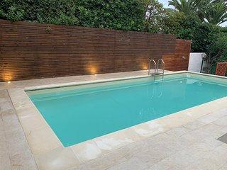Appartamento Nettuno in villa a 20 metri dal mare con piscina
