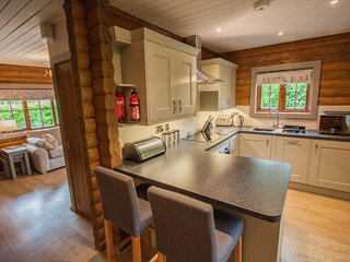 High Oaks Grange | Woodland Lodge (sleeps 4) | Hot Tub - Dog Free - 4* Gold