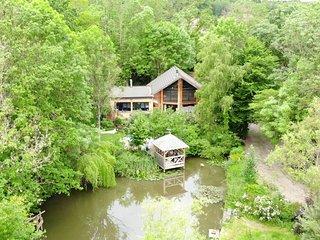 Chambre d'hote avec sauna / table d' hote dans maison bio climatique
