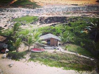Céu da Vida - Unica cabana privada na praia -
