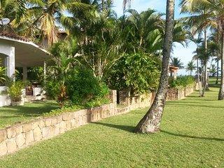 casa charmosa na praia mais limpa e tranquila de sp