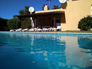Marbella villa w/ hot tub
