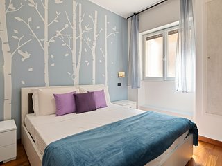 Stylish 3 bed flat - up to 7 guests - San Giovanni