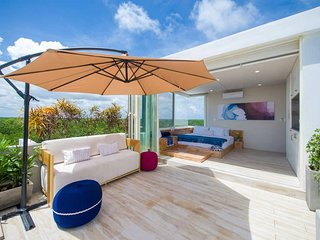 Nocturna at Mun Tulum | Rooftop Suite with Private Pool & View of Mayan Ruins