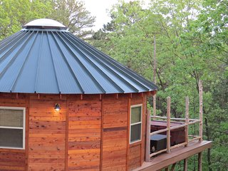 Pine View Yurt at Eureka Yurts and Cabins