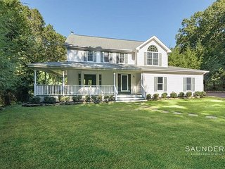 NEW Southampton Sag Harbor Home Large Private Property walk to beach