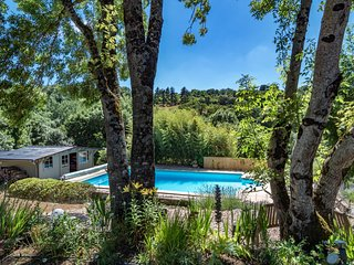 Monteils Villa Sleeps 8 with Pool Air Con and WiFi - 5605310