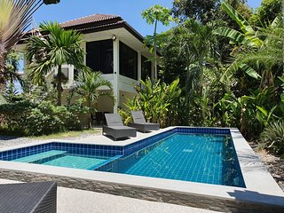 Twin Villas house with a swimming pool