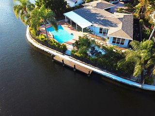 Luxury Waterfront Home w/ Large Private Saltwater Pool
