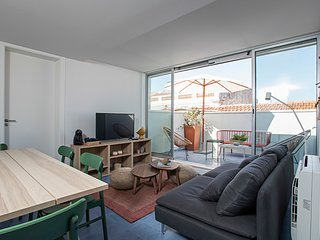 3BDR rooftop terrace apartment in Bairro Alto