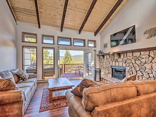 NEW! Condo Near Midtown Ruidoso w/ Grill & Views!