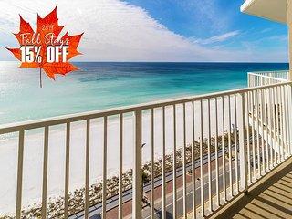 15% OFF FALL + FREE VIP Perks! Pool~Hotub~Gym * Resort! 10th FLR BEACH View!!