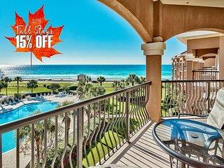 15%OFF FALL +FREE Beach Service! Beach View! Pool~Hotub +FREE VIP Perks &MORE