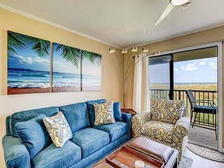 Beautifully Renovated Retreat w/ Direct Ocean Views | Walk 25 Yards to Beach