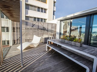 Avalon City Retreat is a multi-award winning luxury penthouse in Hobart CBD