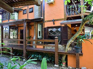 Colonial house style with modern life style in a paradise Ilhabela
