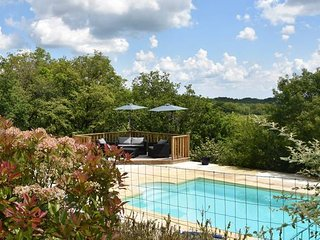 A beautiful two bedroom French villa set in its own grounds with private pool.