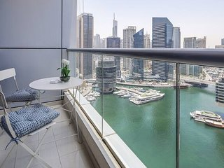 Marina Views! Beautiful 1BR in Dubai Marina