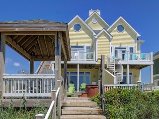 S. Shore Drive 106 | Heart of Surf City | Elevator |Internet | Direct Oceanfront
