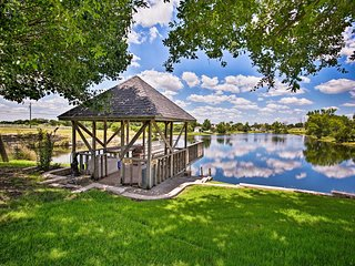 NEW! Lovely Celina Home w/ Patio & Views on Lake!