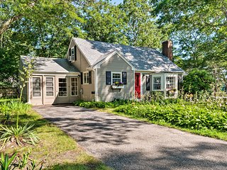 Cape Cod House w/ Grill & Yard - Drive to Beach!