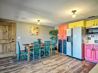 NEW! Bright, Renovated Home w/Views of Pikes Peak!