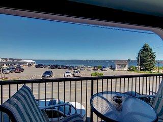 Lincolnville Studio w/ Ocean-view Balcony!