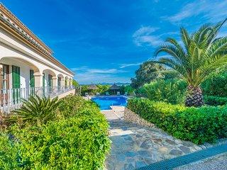 Villa rural Sa Pleta para 12 personas a tan solo 15 minutos de la playa.