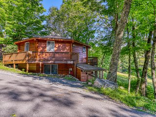Mountainside house with the best access to the ski slopes