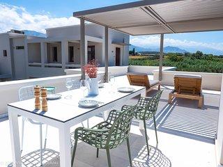 ROGDIA-Superior Apartment with Balcony&Terrace- Olive grove, sea, mountain views