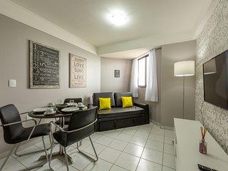 Apartamento com vista para a praia de Ponta Negra NAT-PN.Maximum1403/Marcelo