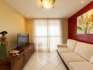 Apartamento com 2 quartos em Ponta Negra vista pro mar Quality-603-Yuri