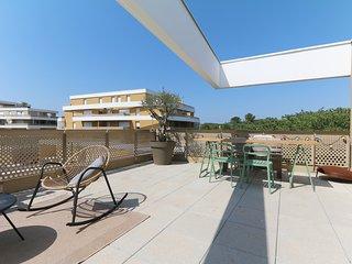 Bel appartement, terrasse exceptionnelle, dernier etage - Air Rental