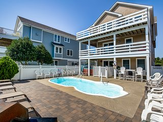Moby's Landing | 856 ft from the beach | Private Pool, Hot Tub | Nags Head