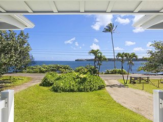 *NEW* Hanalei Plantation House TVNC #5129 Steps to the Bay, waterfall views