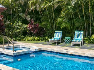 3bd Luxury Home w/pool, A/C, & Sunset Views. Villages at Mauna Lani Resort 728.