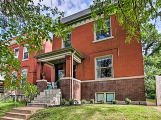 NEW! Historic St. Louis Home w/ Updated Interior!